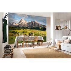 Fototapete Alpen 368x254 cm