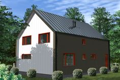 Проект каркасного дома TRUMP 155 кв.м. http://www.ekonia.ru  The project of frame house TRUMP 155m2 vid 4