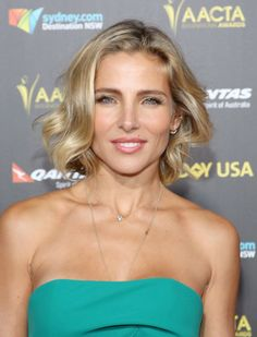 Rocking a wob (wavy bob) and pretty makeup notes, Chris Hemsworth's other half, Elsa Pataky looked absolutely radiant.