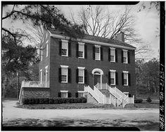 1.  GENERAL VIEW - James C. Daniel House, Bartram Trace Road, Washington, Wilkes County, GA