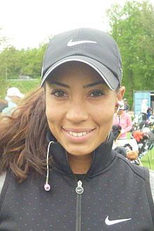 Cheyenne Nicole Woods (born July 25, 1990) is an American professional golfer.Woods was born in Phoenix, Arizona. She is a daughter of Earl Dennison Woods Jr., golfer Tiger Woods's older brother. Her grandfather, Earl Woods Sr., was her first coach.[1] She played for the Xavier College Preparatory golf team and won back-to-back Arizona 5A State Championships in 2006 and 2007.[1] She graduated from Wake Forest University (2012). where she played golf. She has won more than 30 amateur…