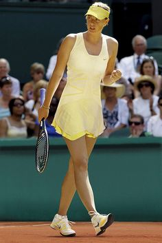 Maria Sharapova. Fierce