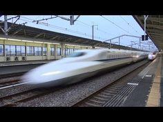 新幹線 のぞみ 300km/h高速通過!N700系 新倉敷駅編 The Japanese Bullet Train - Shinkansen - https://www.youtube.com/watch?v=FeYsksptnCk