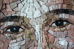 ORIGINAL MOSAIC ARTWORKS :: MEMORIAL PORTRAIT - Mosaic Republic - Pure. Italian. Passion.