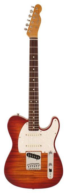 Fender  Foto Flame Nashville Telecaster, Cherryburst