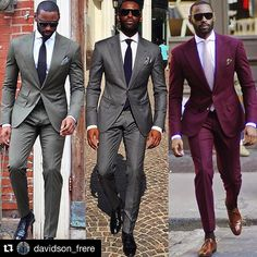 men suits 2017 -- Click Visit link above for more options Gentleman Mode, Gentleman Style, Sharp Dressed Man, Well Dressed Men, Mens Fashion Suits, Mens Suits, Classy Suits, Style Masculin, Mens Attire