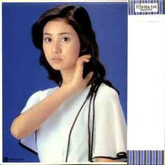 Katahira Nagisa (片平なぎさ) 1959-, Japanese Actress