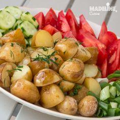Cartofi noi la cuptor / Roasted new potatoes - Madeline's Cuisine
