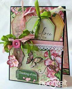 Heartfelt Creations tag card