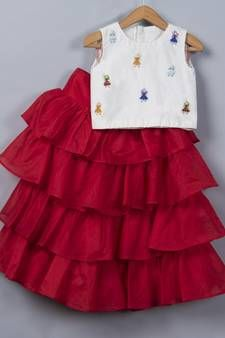 Best Discounts & Offers on Mirraw kids Kids Dress Collection, Hani, Frocks, Stylish, Beautiful, Dresses, Design, Vestidos