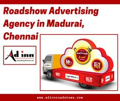 The value of a roadshow is that it provides in-person conversations between your customers and prospects with your sales, marketing, and product teams in a smaller setting. A famous roadshow advertising agency in Madurai, Chennai increases conversion rates. Advertising Services, Madurai, Chennai, Ads, Marketing, Amazing