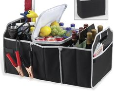 HURRY! Collapsible Trunk Organizer in Black 82% OFF - Just $9.10!  becomeacouponqueen.com