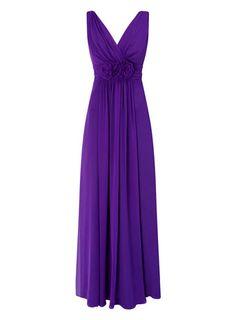 Ruby Purple Long Dress