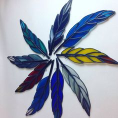 New Flock of Handcrafted Stained Glass by SheWhoPlaysWithGlass