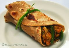 Hilda's Touch of Spice: Chicken Kathi Roll