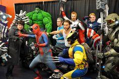 É, mais um evento de encher os olhos. O Montreal Comic Con deste ano foi repleto de cosplays que dominam a arte da fantasia. E como era de se esperar, a NerdBird está aqui para divulgar algumas imagens do evento.