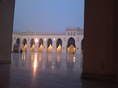 AL Hakem B Amr Ellah Mosque, Old Cairo, Egypt     where the soul rests......