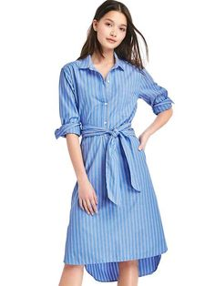 Cute shirtdress for work from the Gap.