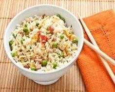 Riz sauté aux petits pois, lard fumé et menthe http://www.cuisineaz.com/recettes/riz-saute-aux-petits-pois-lard-fume-et-menthe-37048.aspx