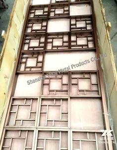 Metal Screen Decorative stainless steel Laser Cut Metal, Laser Cutting, Door Grill, Stainless Steel Screen, Laser Cut Screens, Focal Wall, Metal Screen, Grill Design, Room Doors