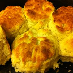 Iron skillet Buttermilk Biscuits- the highlight of Fathers Day Breakfast... The secret to success is not in the recipe, but in the technique.