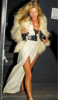 Kate Moss on her 33rd Birthday  http://www.graziadaily.co.uk/fashion/news/kate-moss-cara-delevingne-burberry-london-fashion-week