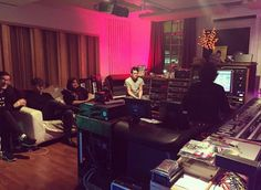 New Order teases new studio album with photo taken during mixing session