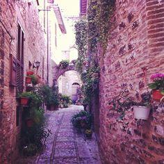 Spello v Perugia, Umbria