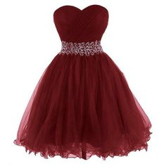Burgundy Homecoming Dress,Wine Red Homecoming Dresses,Beading Homecoming Gowns,Cute Party Dress,Shor on Luulla Dama Dresses, Best Prom Dresses, Quince Dresses, Sweet 16 Dresses, Formal Dresses, Bridesmaid Dresses, Dress Prom, Prom Gowns, Long Dresses