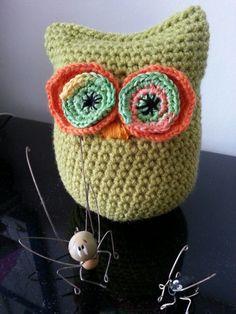 Crochet Owl Amigurumi, my pattern