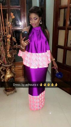 Latest African Fashion Dresses, African Dresses For Women, African Print Dresses, African Attire, African Wear, African Women, Senegalese Styles, Nigerian Outfits, Maternity Nursing Dress