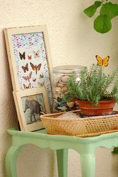 Mint & butterflies | Flickr - Photo Sharing!