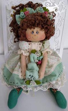 Kit Bebe, D Craft, Beautiful Dolls, Crochet Hats, Cats, Country, Fabric Dolls, Rag Doll Tutorial, Cloth Art Dolls