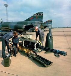 British Phantom F-4M Gun Pod