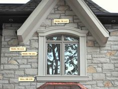 Window Design:  Sill: SB-129 French Exterior, Exterior Trim, Exterior Window Molding, Exterior Windows, Arched Windows, Windows And Doors, Architectural Columns, Window Grill Design, Open Stairs