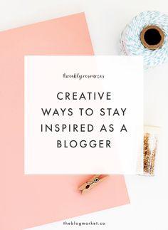 Creative Ways to Sta
