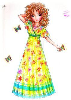 Princess of the Caribbean by ~funandcake on deviantART
