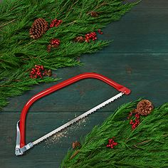 Chopping down your own Christmas tree this year? Here's the right tool--and how best to use it.