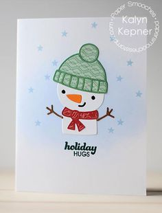 Paper Smooches: Paper Smooches - November 2015 reveal | holiday hugs by Kalyn Kepner