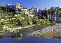 France.  The Plus Beaux Village of Balazuc in Ardèche