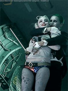 couple, harley quinn, and gif image