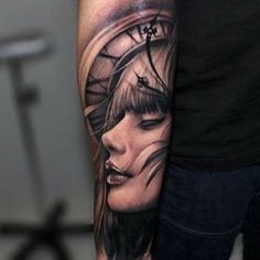Riccardo Cassese #realistic #tattoo #artist from Barcelona
