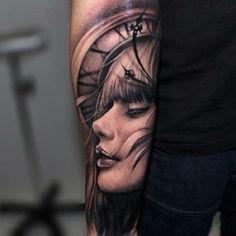 Riccardo Cassese #realistic #tattoo #artist from Barcelona