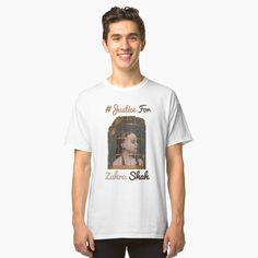 """""""Justice For Zahra Shah T-shirt & Mask Unisex men women"""" T-shirt by AnderTk 