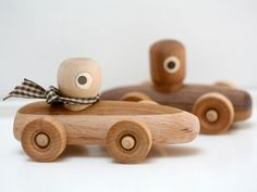 Handmade in NYC by designer Ken Como, this charming collection of wooden toys is made of all natural materials and wood sourced locally from the New York area. The features of the characters and vehicles are created using the wood's natural color–the toys are finished in all natural, non-toxic beeswax and jojoba oil. Simple & …