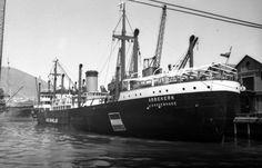 ABBEKERK Bouwjaar 1939, grt 7906 N.V. Vereenigde Nederlandsche Scheepvaartmaatschappij http://koopvaardij.blogspot.nl/2016/08/24-augustus-1942.html