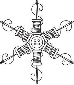 Sewing Snowflake_image
