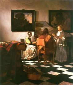 Jan Vermeer van Delft - The Concert