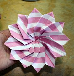 Rhymes With Magic: Origami Dahlias