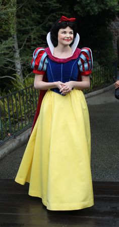 Ginnifer Goodwin (OUAT's Snow White) as the Disney Classic's Snow White